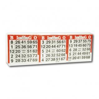 Lottotickets 1-75 - 1500 Stück