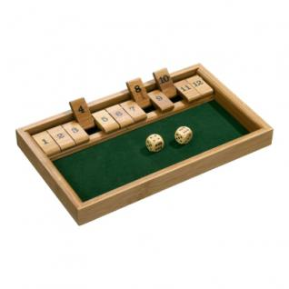 Shut The Box 12er - Bambus