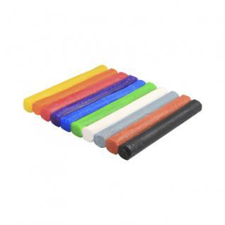 Knete - Glitzer - 10 Rollen farbig sortiert