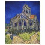 120 Teile Puzzle Dose - Van Gogh - die Kirche von Auvers