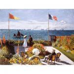 120 Teile Puzzle Dose - Monet - Garten in Sante-Adresse