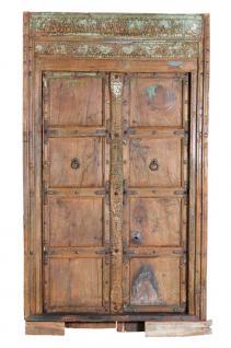 Indien 1900 Kleine Tür mit traditionellen Ornamenten