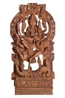 Großer Hausaltar indischer Gott Shiva gemeinsam mit Parvati