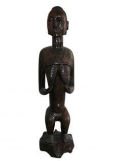 Stamm der Lulawa, mittlerer Kongo, Ahnenfigur, beeindruckende Größe - Vorschau