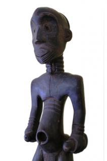 Stamm der Lulawa, mittlerer Kongo, Ahnenfigur, schöne Größe, ca. 50-60 Jahre