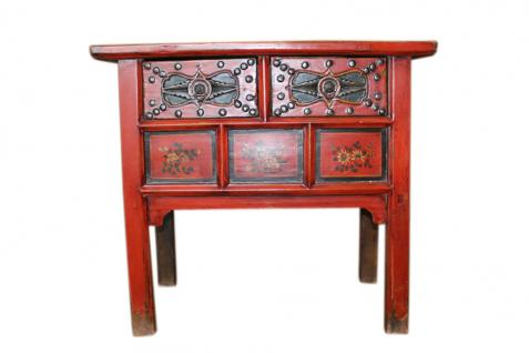 China 1910 klassisch geformte Kommode Anrichte feine Bemalung - Vorschau