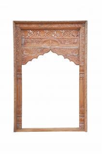 Indien Rahmen Fenster Dekorbogen zum Innenausbau geschnitztes Holz