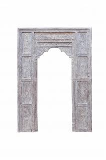 Indien Tür Tor Rahmen Dekorbogen zum Innenausbau Schnitzerei
