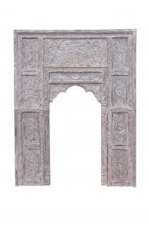 Indien Tür Tor Rahmen Dekorbogen zum Einbau Schnitzerei Holz
