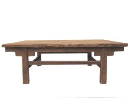 China Shanxi um 1890 traditioneller Tisch aus massivem Pinienholz