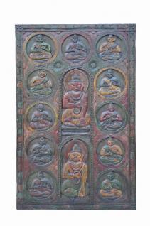 Wunderschönerhandgeschnitzter Deko Panel Türblatt aus Indien