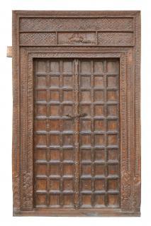 India 1910 Tür Tor massiver Rahmen großartige Erhaltung von Luxury-Park - Vorschau