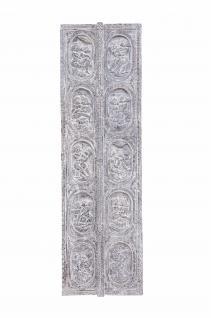 Indien schmales klassisches Wandbild aus Türblatt traditionelles Motiv