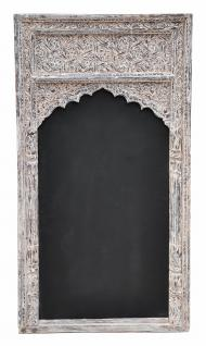 Indien Schreibtafel Rahmen Fenster Dekorbogen Schnitzterei