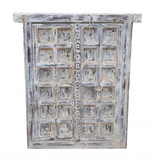 Indien mächtiges Fenster mit herrlichem Kassetten Rahmen von Luxury-Park
