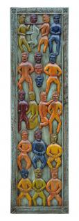 Indien schlankes buntes Wandbild Dekortafel ethno style colour bei Luxury Park