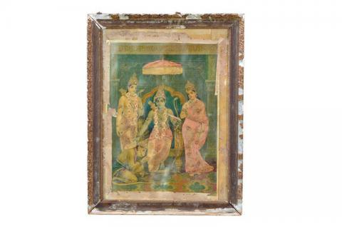 Bild Gemälde aus Indien - unbedingt ansehen. - Vorschau