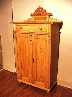 Weichholz Kredenz Vertiko Dekoraufsatz Ungarn ca 1890 Superpreise von Luxury Park