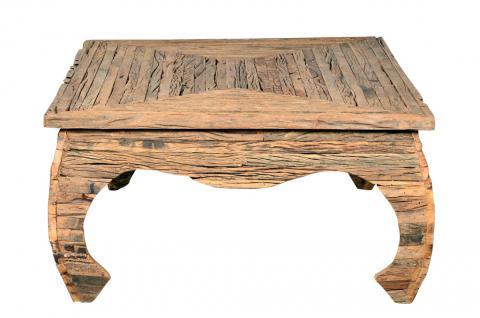 Indien typisch niedriger Tisch coffeetable hübsche Oberfläche Rajasthan