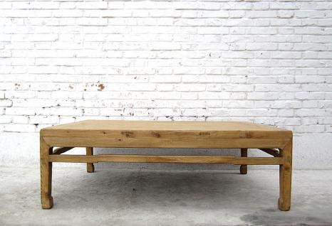 CHINA Shanxi 1860 antique table natural pine wood CINA tavolo basso I D SD.D.38