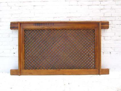 Antikes Fenster Gitter, Original aus der Proving Ganshu