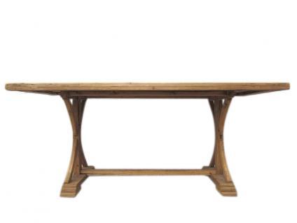 China Shanxi 1860 Esstisch Tisch rustikales helles Ulmenholz - Vorschau