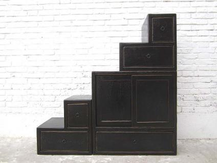 schubladen kommode schwarz online kaufen bei yatego. Black Bedroom Furniture Sets. Home Design Ideas