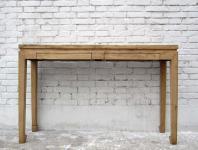 China Garderobe Kredenz Beistelltisch Longboard helles Ulmenholz