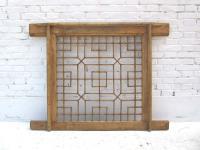 China klassischer Stil filigran gearbeitetes Fenstergitter in bester Erhaltung