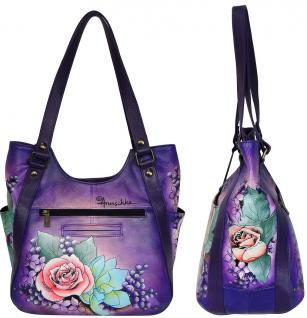 Handbemalte Anuschka Tasche Leather Bag 543LLC - Vorschau 2