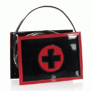 Handtasche Klinik schwarz - Vorschau
