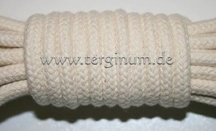 Geflochtenes Baumwollseil mit Seele Ø 6 mm - Vorschau 1