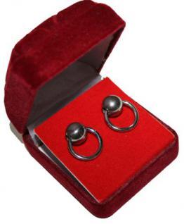 Große BDSM Ohrstecker Ohrringe der O