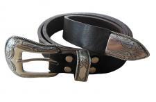 Premium Leder Gürtel NEV25 Western braun