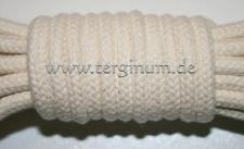 Geflochtenes Baumwollseil mit Seele Ø 6 mm