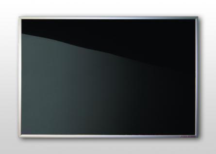 Infrarotheizung Nomix Black 500 Watt - Glasheizung mit Alurahmen