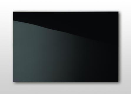 Infrarotheizung Nomix Black 500 Watt - Glasheizung ohne Rahmen