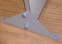 Dreiecksfüße mit Alu-Rahmen für Infrarotheizungen