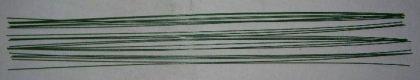 80 Stück Steckdraht zum Basteln - 0, 9 x 400 mm - grün - Basteldraht -Gebinde