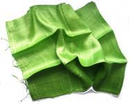 BLAZER SCHAL Seide grün
