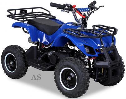 Allstars Quad Torino 49cc Mini-Quad blau