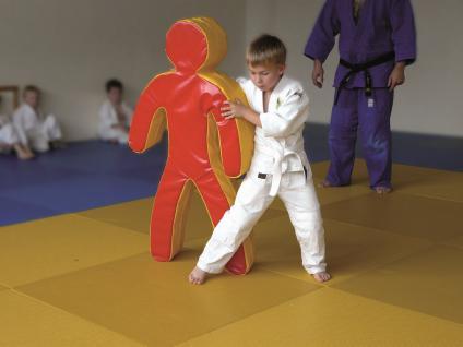 Turnen BUDO Trainingspuppe Schaumstoff Kampfsport Judo Breitensport Sport Bänfer Trainingsmodul