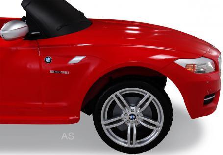 allstars Kinderauto Elektroauto BMW Z4 rot Lizenz ...