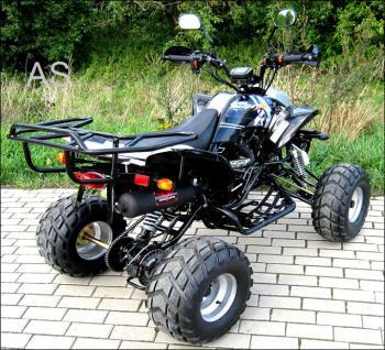 Allstars Quad Strassenquad 200cc Shineray schwarz-silber Zweisitzer