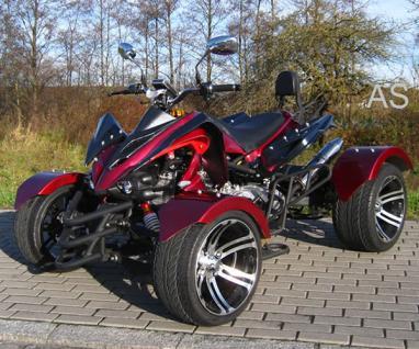 Allstars Quad 300cc Speedstar rot Straßenzulassung Zweisitzer