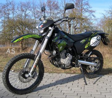 allstars dirtbike 250 ccm shineray super moto stra enzulassung. Black Bedroom Furniture Sets. Home Design Ideas