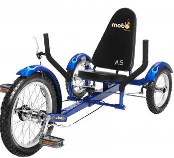 Allstars MOBO® Cruiser TRITON 3 Dreirad-Fahrrad blau