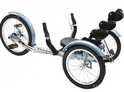 Allstars MOBO® Cruiser Shift 3 Dreirad-Fahrrad blau