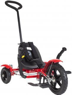 Allstars MOBO® Cruiser Total Tot 3 Chopper Dreirad-Fahrrad rot