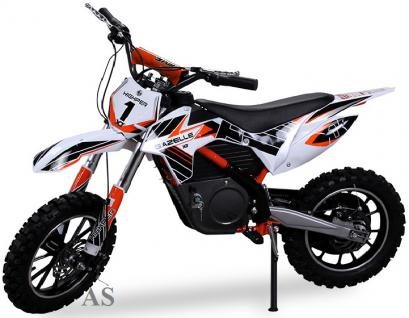 Allstars Dirtbike 500 Watt Gazelle Elektro CrossBike orange